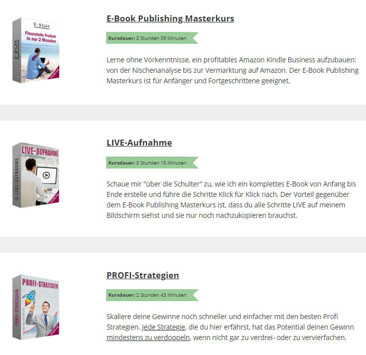 E-Book Publishing Masterkurs