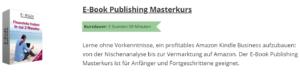 Erfahrungen Ebook Publishing Masterkurs von Grigori Kalinski
